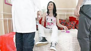 Horrific gyno doc comes to examine doe's honeyed axil